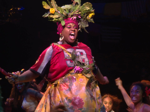 The Gods Heard Our Prayers! More Show Clips from Once On This Island