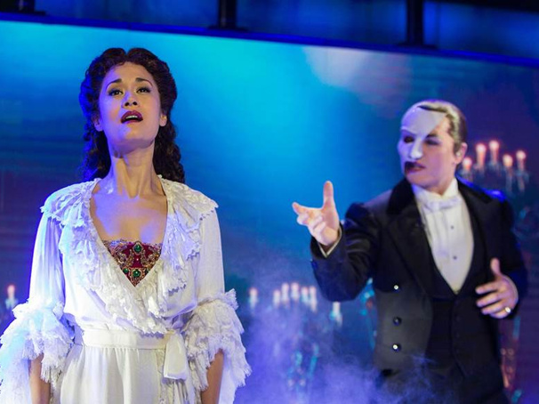 Watch Peter Joback & Ali Ewoldt Deliver a Thrilling 'Music of the Night' on The Phantom of the Opera's 30th Anniversary