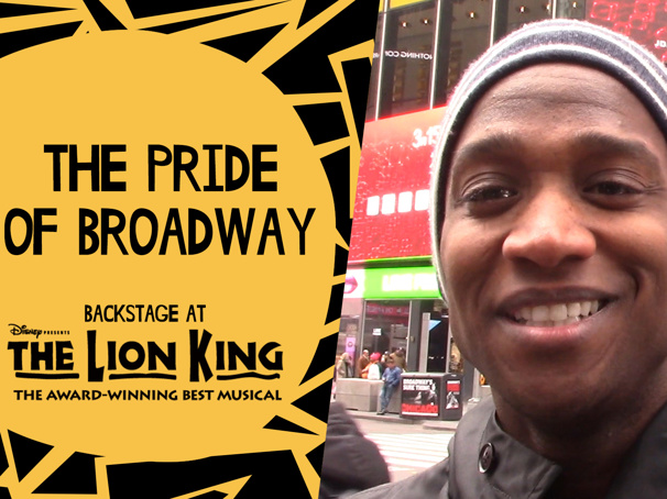 Backstage at The Lion King with Jelani Remy, Episode 6: Run the World