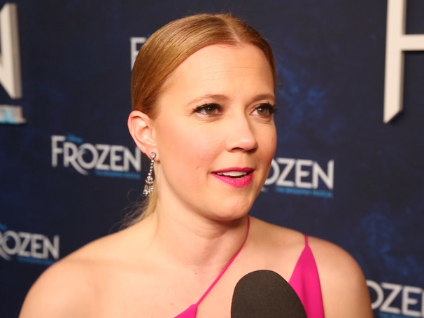 The Broadway.com Show: Hit the Red Carpet on Opening Night of Frozen with Patti Murin, Caissie Levy & More