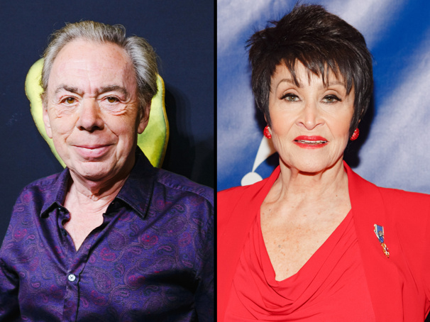 Andrew Lloyd Webber & Chita Rivera to Receive 2018 Tony Awards for Lifetime Achievement