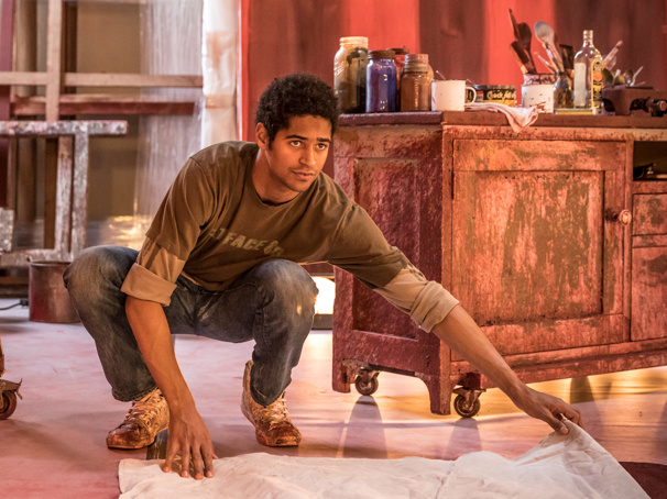 Red's Alfred Enoch on Returning to the London Stage, Talking Theater with How to Get Away with Murder Co-Star Viola Davis & More