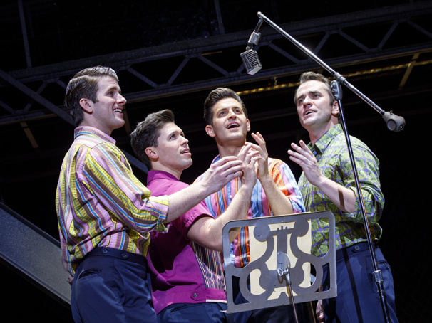 The touring company of Jersey Boys