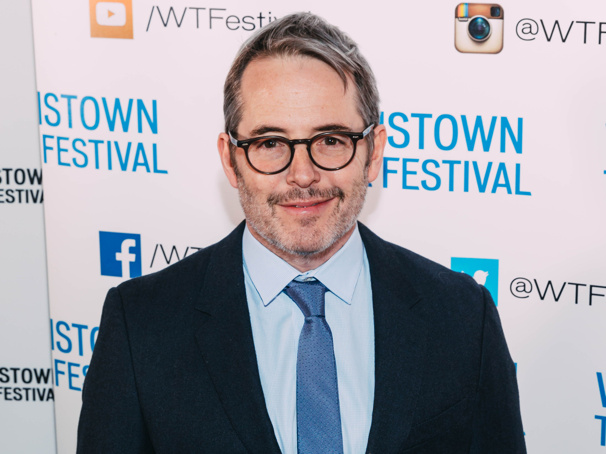 Two-time Tony winner Matthew Broderick suits up.