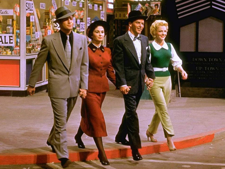 Image result for guys and dolls movie cast