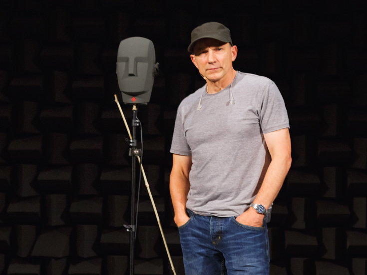 Forget The Fourth Wall Simon Mcburney Ensnares The Senses In The
