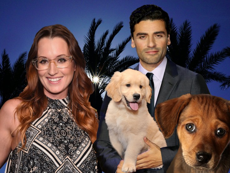 Oscar Isaac Ingrid Michaelson Puppies More Go Out About With