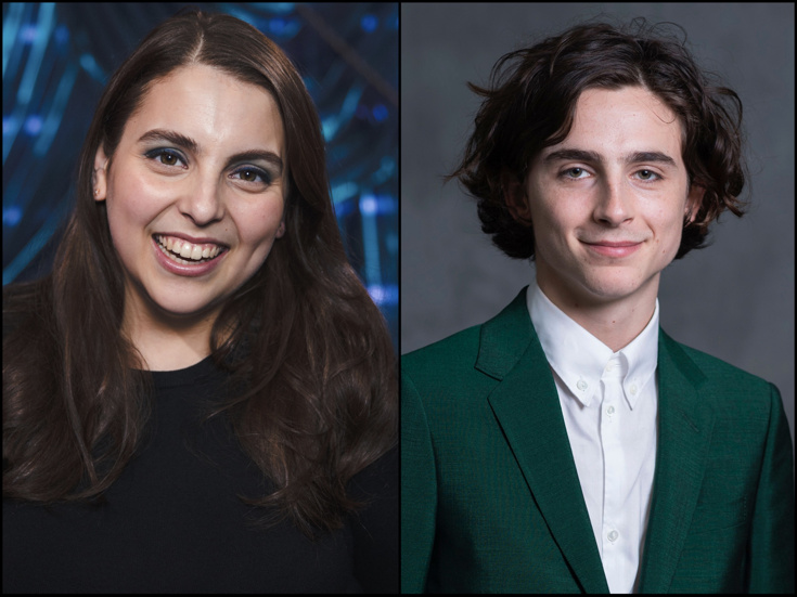 Odds   Ends  Lady Bird s Beanie Feldstein   Timothee Chalamet Land Small  Screen Gigs   More 8778421bcec