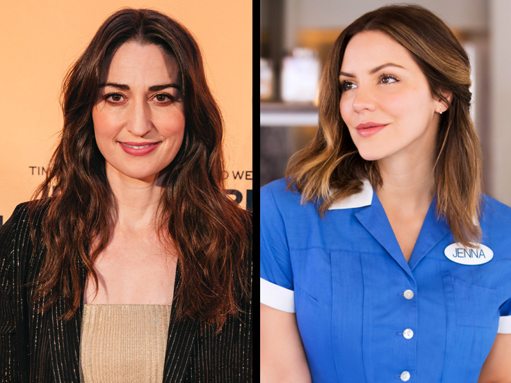 Waitress Sara Bareilles On Katharine Mcphee Joining The Show What A Dreamboat Broadway Buzz Broadway Com