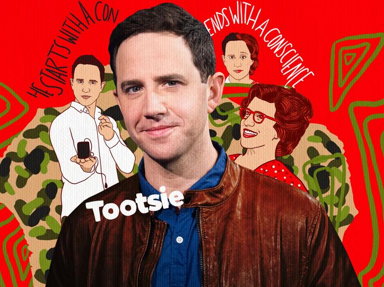 Tootsie Star Santino Fontana on How Backstage Is Like a War Movie, His Costume Is Like Shawshank & More on Show People