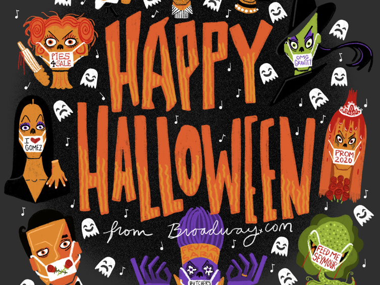 Keep Your Homebound Halloween Bopping with This Spooktacular Broadway Playlist
