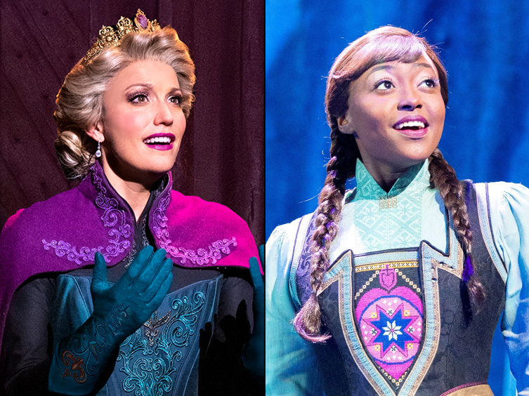 Frozen's Caroline Bowman & Aisha Jackson on Their Emotional Return to Broadway for Disney's Holiday Singalong