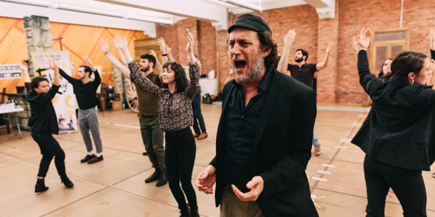 In The Rehearsal Room With Yehezkel Lazarov And The