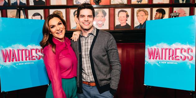Shoshana Bean & Jeremy Jordan Extend Run in Waitress on Broadway