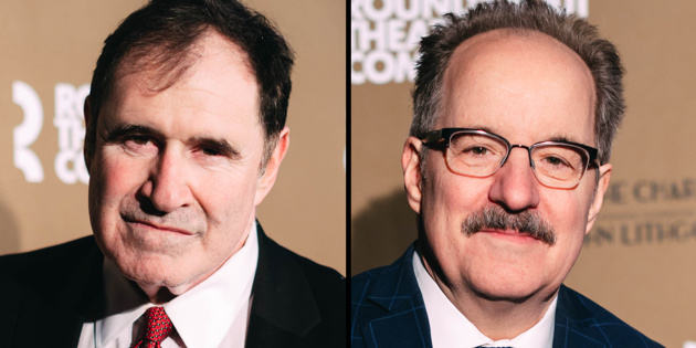Richard Kind Steps into Kiss Me, Kate as Second Man, Reuniting with Mad About You Co-Star John Pankow | Broadway Buzz | Broadway.com