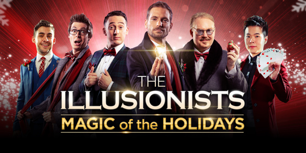 America's Got Talent's Dom Chambers & Eric Chien Join Lineup for The Illusionists—Magic of the Holidays | Broadway Buzz | Broadway.com