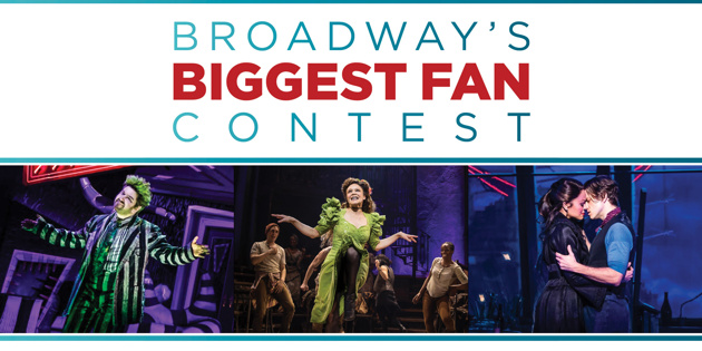 Show Us Why You're Broadway's Biggest Fan & Win Tickets to Broadway.com's Audience Choice Awards
