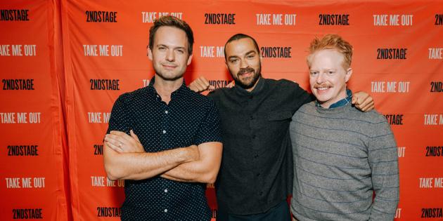 Patrick J. Adams, Jesse Williams & Jesse Tyler Ferguson Set for Take Me Out on Broadway