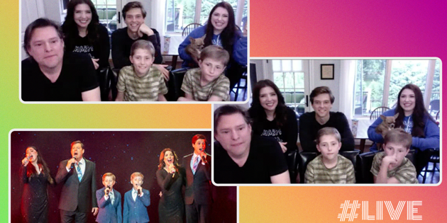 The Sharpe Family Singers on How a Broadway Love Story Turned into TikTok Fame