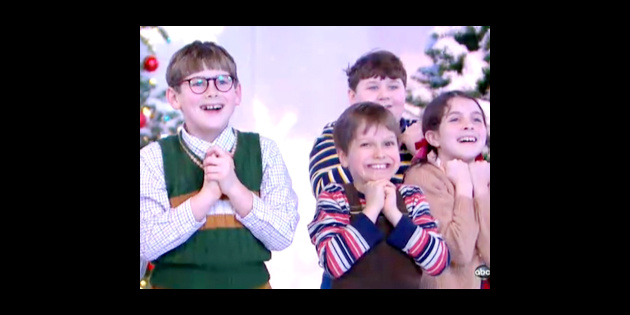 The Kids of A Christmas Story Make Merry Music on Good Morning America | Broadway Buzz ...