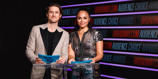 Aaron Tveit and Karen Olivo Announce the 2018 Broadway.com ...