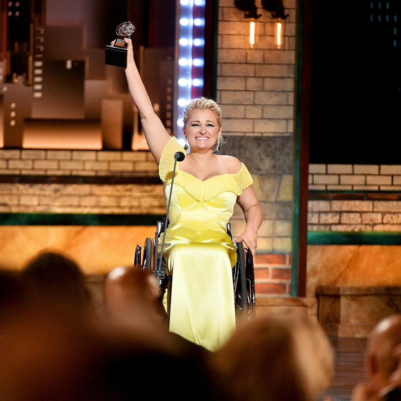 Oklahoma! Standout Ali Stroker Breaks Ground with First Tony Award