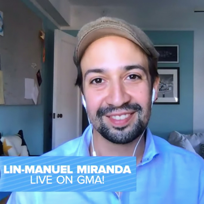 Bit Of A Day Lin Manuel Miranda On Making The Hamilton Movie In Three Days His Next Disney Gig Broadway Buzz Broadway Com