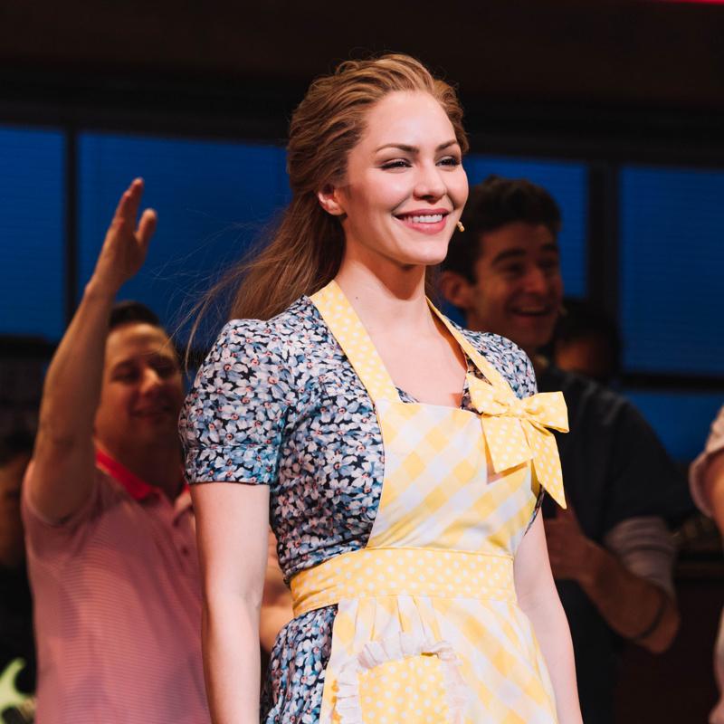 Katharine Mcphee Will Close Out Broadway S Waitress As The Musical S Final Jenna Broadway Buzz Broadway Com
