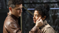 Enver Gjokaj as Jaap Hooft and Rebecca Naomi Jones as Kate in Fire in Dreamland.