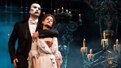 Ben Crawford as The Phantom and Ali Ewoldt as Christine in The Phantom of the Opera.
