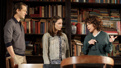 Hugh Dancy, Talene Monahon and Stockard Channing in Apologia.