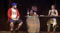 "Nate Miller as Tim and Shazi Raja as  Basminder ""Boz"" Batra in  India Pale Ale."