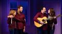 Kate Wetherhead, David Rossmer, Steve Rosen and Elizabeth Nestlerode in The Other Josh Cohen.