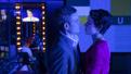 Tony Goldwyn as Max Schumacher and Tatiana Maslany as Diana Christensen in Network.