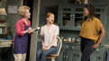 Debra Jo Rupp as Della, Genevieve Angelson as Jen and Marinda Anderson as Macy in The Cake.