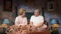 Debra Jo Rupp as Della and Dan Daily as Tim in The Cake.