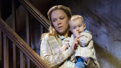 Emily Bergl as Mary Carney and Sean Frank Coffey as Bobby Carney in The Ferryman.