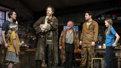 Schuler Hensley as Tom Kettle and the cast of The Ferryman.