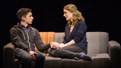 Andrew Barth Feldman as Evan and Lisa Brescia as Heidi in Dear Evan Hansen.