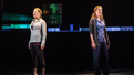 Jennifer Laura Thompson as Cynthia and Lisa Brescia as Heidi in Dear Evan Hansen.