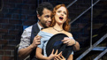 Corbin Bleu as Bill Calhoun and Stephanie Styles as Lois Lane in Kiss Me, Kate.