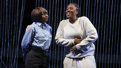 Ebony Marshall-Oliver and Crystal Lucas-Perry in Ain't No Mo'.