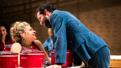 Ali Stroker as Ado Annie and Will Brill as Ali Hakim in Oklahoma!