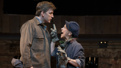 Benjamin Eakley as Reverend Salvation and Sally Ann Triplett as Mrs. Mister in The Cradle Will Rock.