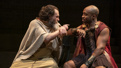 Michael Stuhlbarg as Socrates and Austin Smith as Alcibiades in Socrates.