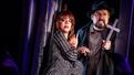 Leslie Kritzer as Delia and Adam Dannheisser as Charles in Beetlejuice.