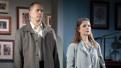 Daniel Jenkins as Doug and Kathryn Erbe as Charlotte in Something Clean.