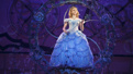 Ginna Claire Mason as Glinda in Wicked.