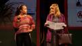 Jasmine Forsberg and Annie Golden in Broadway Bounty Hunter.