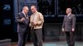Brian Cox as Lyndon B. Johnson, Richard Thomas as Hubert Humphrey and Gordon Clapp as J. Edgar Hoover in The Great Society.